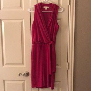 Michael Kors Jersey Faux Wrap Dress S